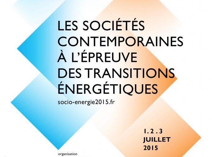 L'approche socio-énergétique, Actes des Journées Internationales de Sociologie de l'Énergie 2015 (Tours, 1-3 juillet 2015), pp. 376-379