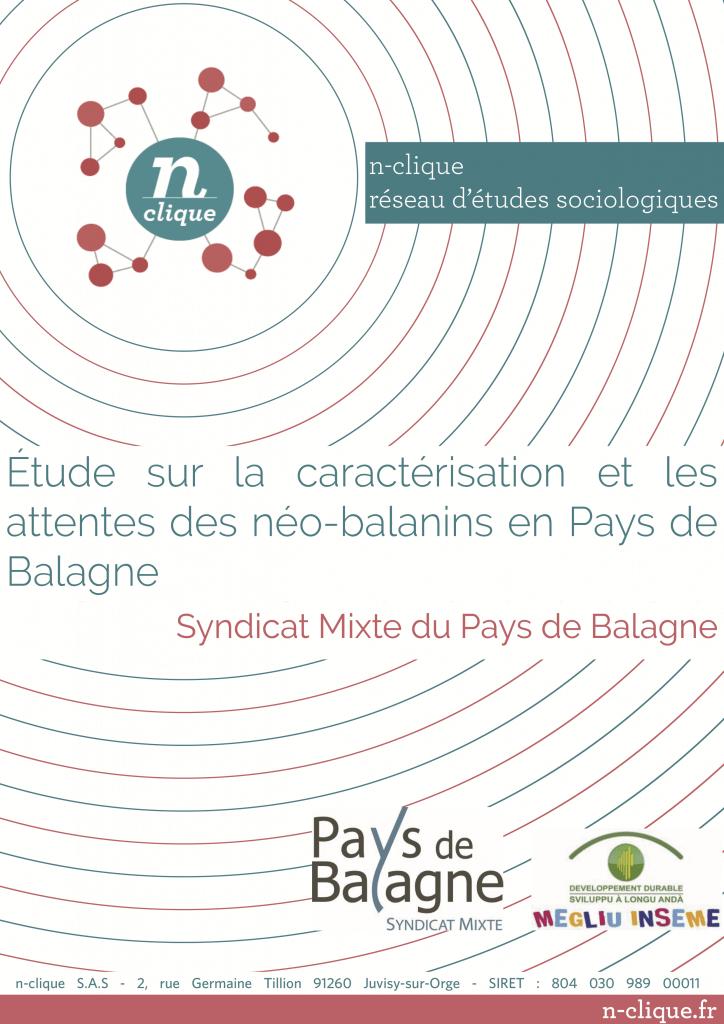 Étude sur la caractérisation et les attentes des néo-balanins en Pays de Balagne
